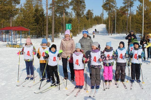 В Ноябрьске выбрали лучших лыжников среди воспитанников детских садов