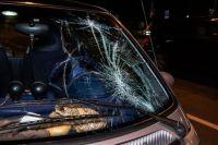В Киеве девушку сбил автомобиль на пешеходном переходе