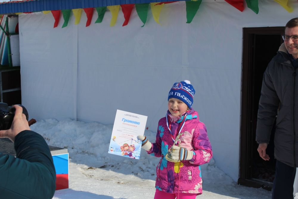 В Ноябрьске выбрали лучших лыжников среди воспитанников детских садов.