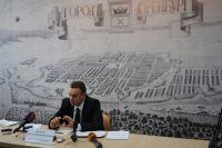Дмитрий Кулагин провел пресс-конференцию для представителей СМИ.