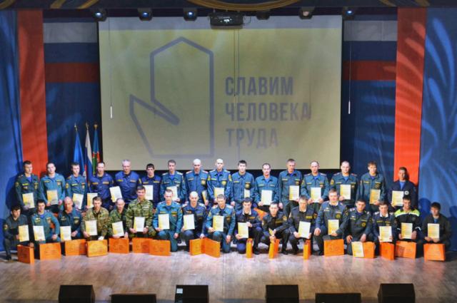 Ямальские пожарные стали лучшими в УФО