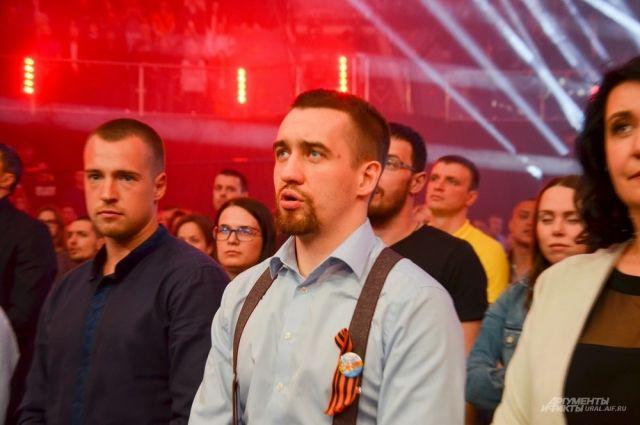 Исполнительный директор Titov boxing promotions Алексей Титов.