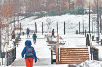 «Детский парк» и разрозненные зелёные зоны сделали единым ландшафтным пространством в 140 гектаров.