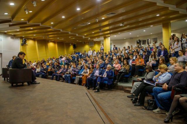 Встреча прошла в рамках КЭФ.