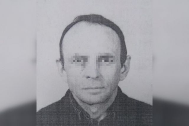Ориентировка на подозреваемого в убийстве.
