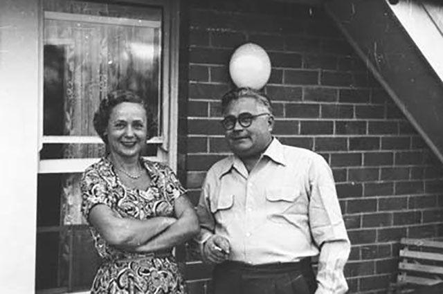 Евдокия и Владимир Петровы.