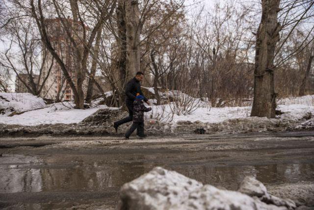 Через три недели снега в Перми не останется.