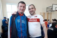 Спартак Газзаев (слева) - капитан сборной России по паратхэквондо и отец четверых детей.