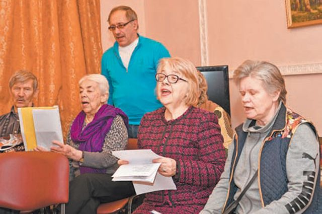 Вокалотерапия – главная фишка центра соцзащиты в Конькове.
