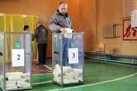 На избирательном участке в городе Константиновке Донецкой области.