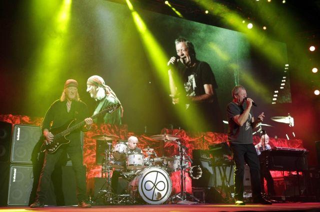 Deep Purple выступит на Дне города.
