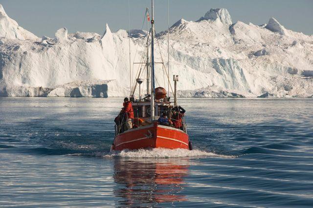 Ледник Якобсхавн.