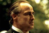 Марлон Брандо в роли Дона Корлеоне. 1972 г.