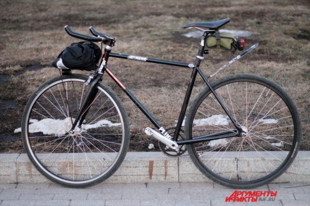 В Иркутске прошел велозаезд в поддержку экологии во всем мире.