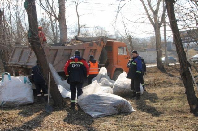 В Свердловском районе существует традиция «санитарных пятниц»