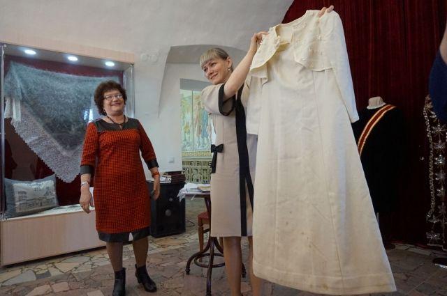 Музей истории Оренбурга собирает старинные свадебные платья