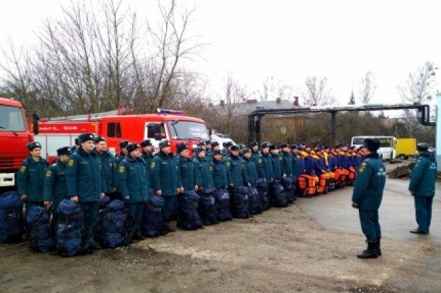 В Калининграде проверили готовность аэромобильной группировки