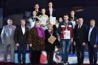 Татьяна Тарасова лично поздравляла призёров и победителей.