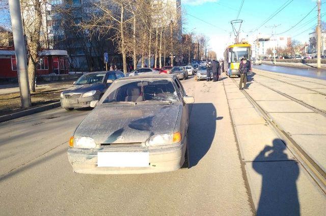 Инцидент произошёл на улице Братьев Игнатовых.