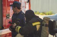Тушить пожар приехали 41 человек и 11 единиц техники.