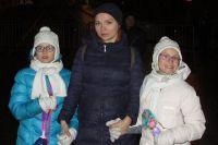 Александра с дочерьми
