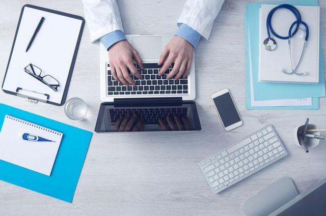 В Оренбуржье впервые прошел онлайн-прием врача