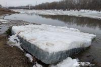 Обычно ледоходы проходят в Оренбуржье в середине апреля.