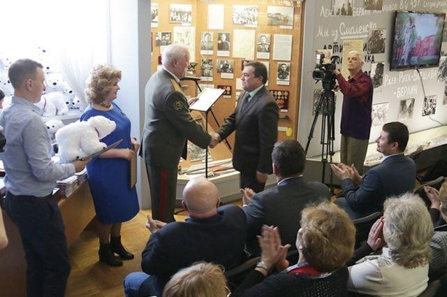 Награждение победителей прошло в музее «Смоленщина в годы Великой Отечественной войны».