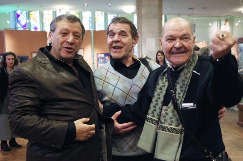 Борис Грачевский, Алексей Булдаков и Алексей Жарков. 2011 г.