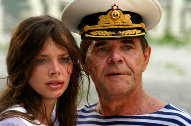 С Елизаветой Боярской в фильме «Парк советского периода, 2006 г.