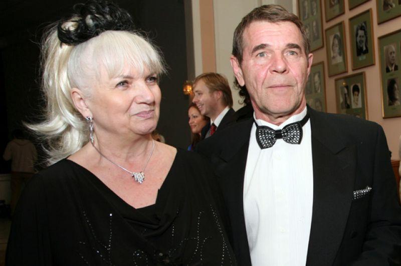 Народный артист России Алексей Булдаков с супругой. 2008 г.