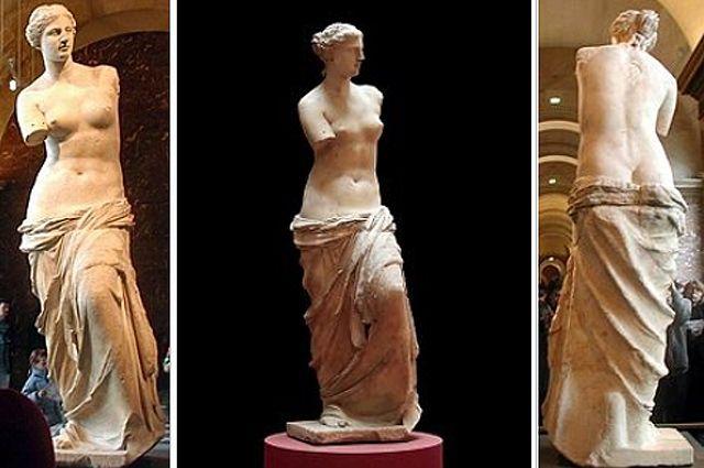 Только без рук. Кто и зачем оторвал руки статуе Венеры Милосской - Real estate