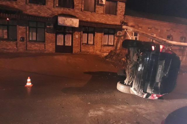 УМВД: подробности пьяного ДТП на переулке Бухарском