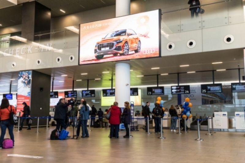 Регистрация в аэропорту Платов на первый рейс в Калининград