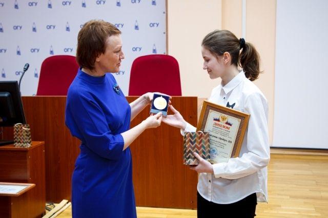 Абсолютным победителем признана ученица лицея № 9 Вероника Нестерова