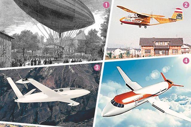 Самолеты с электродвигателями появятся уже в ближайшие 10 лет.