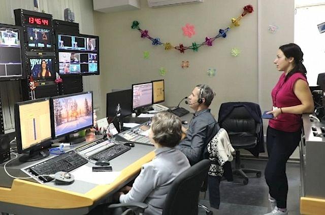 Аппаратная главной студии телекомпании «Ника ТВ». Именно отсюда  большинство программ записывается или выходит в эфир.