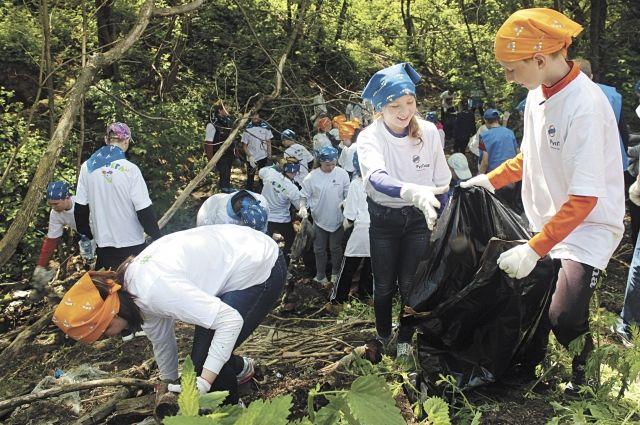 Молодежь беспокоят экологические проблемы.