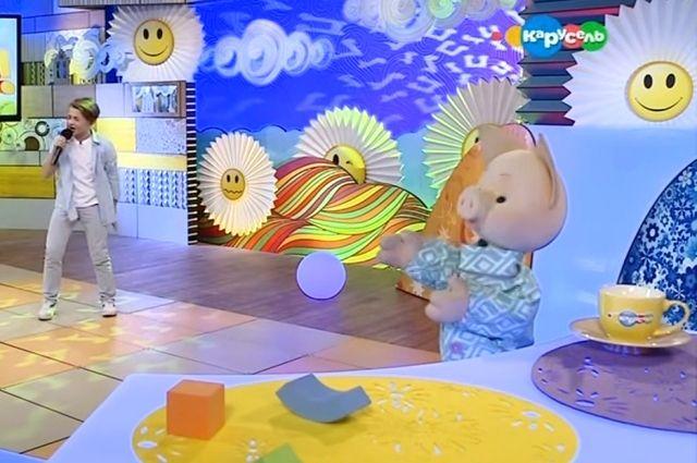 Оренбуржец Рутгер Гарехт  спел в программе «С добрым утром, малыши!»
