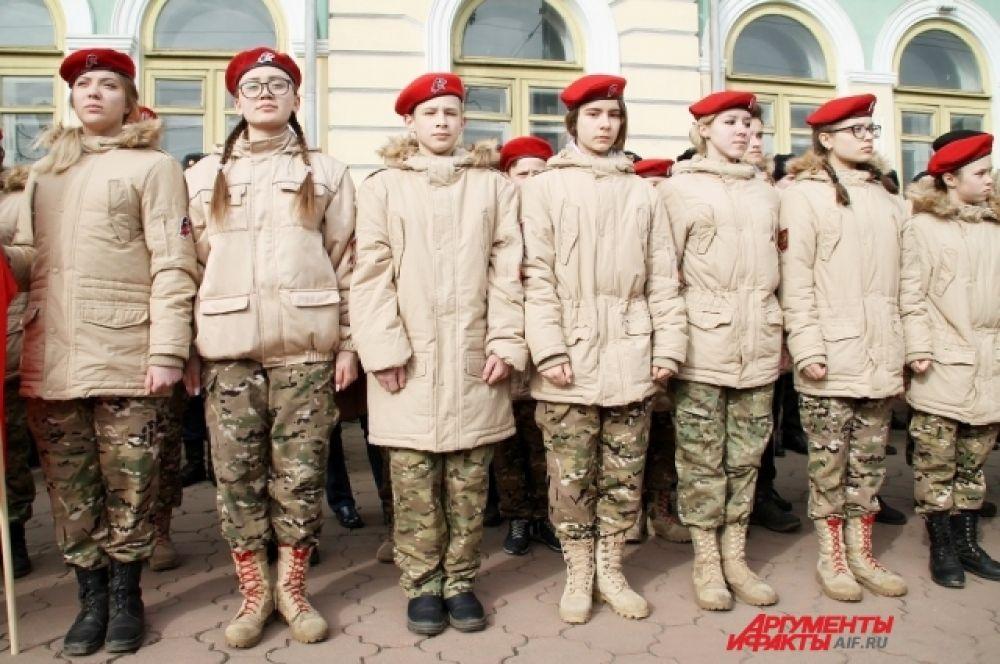 Ряды Всероссийского детско-юношеского военно-патриотического общественного движения «Юнармия» 4 апреля пополнили 110 школьников и кадетов из Иркутской области.