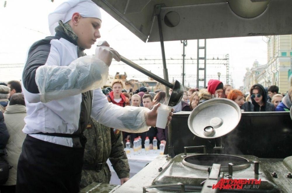 Иркутск стал 38 городом, где состоялась военно-патриотическая акция «Сирийский перелом».