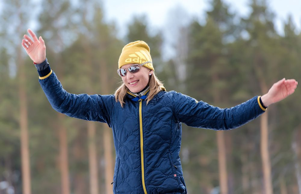 Олимпийская чемпионка, чемпионка мира Анастасия Кузьмина (Словакия)