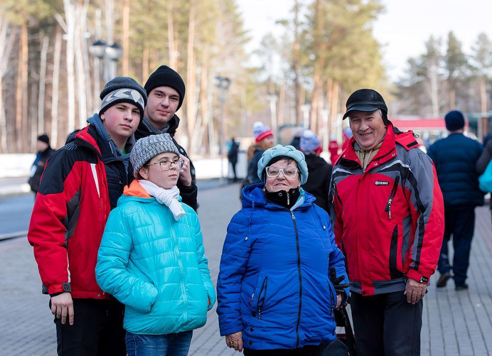 Семья болельщиков из Челябинской области