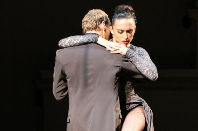 екоторые зрители пришли на концерт именно ради аргентинского танго.