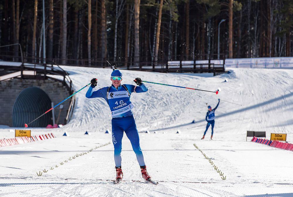 Победитель масс-старта Владимир Семаков (Удмуртия)