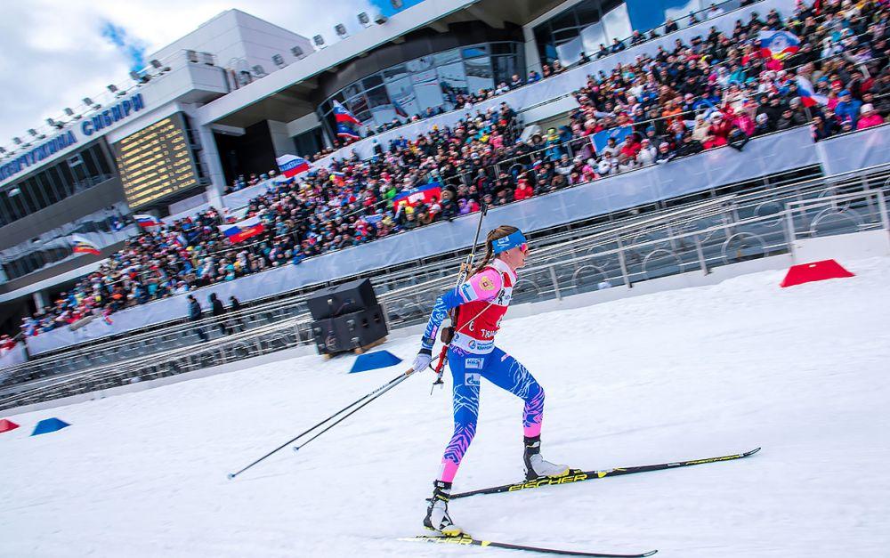 Светлана Миронова мчится к победе