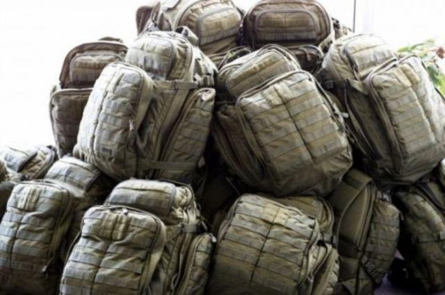 Минобороны впервые купило рюкзаки вдвое дешевле, чем «рюкзаки Авакова».