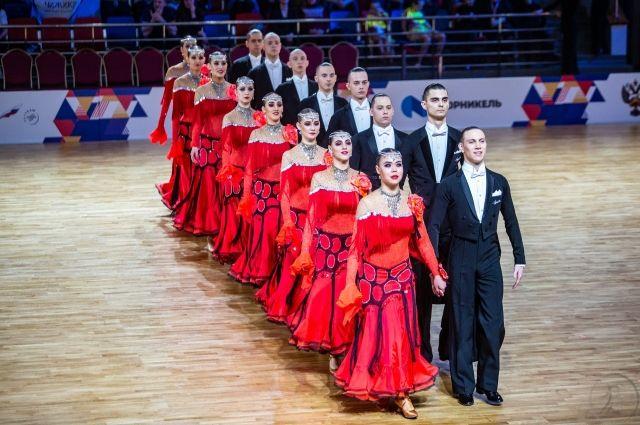 12 команд выступили от Тюмени на Чемпионате России по танцевальному спорту