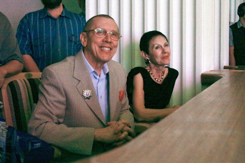 Тамара и Валерий Золотухины на Алтае
