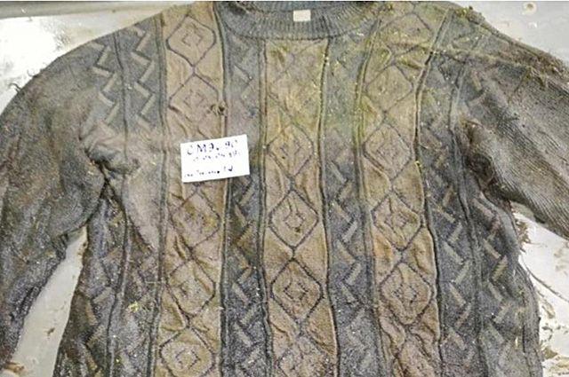 В эту кофту был одет погибший мужчина